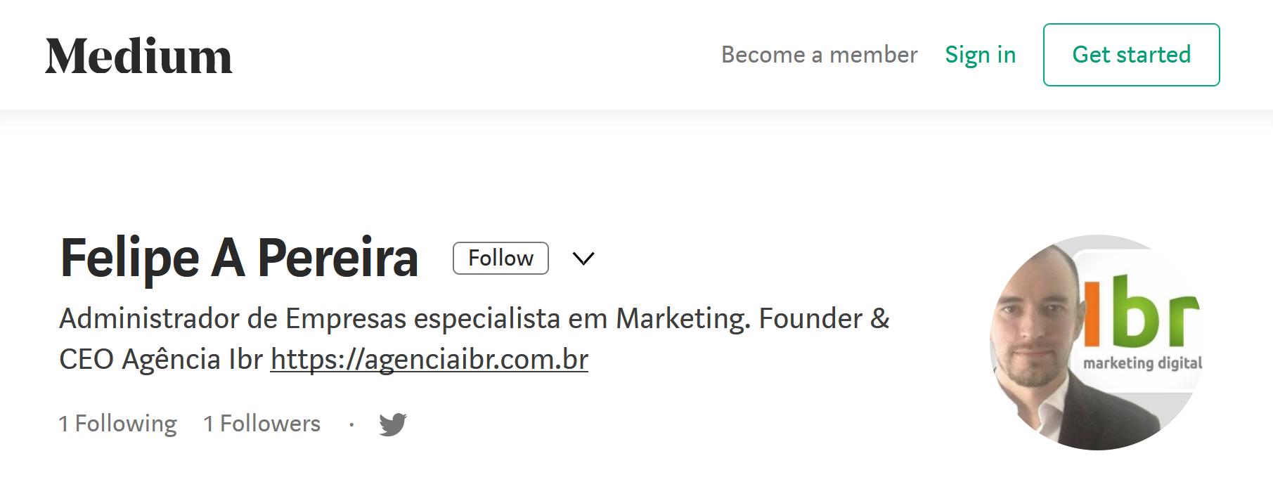 Felipe A Pereira no Medium